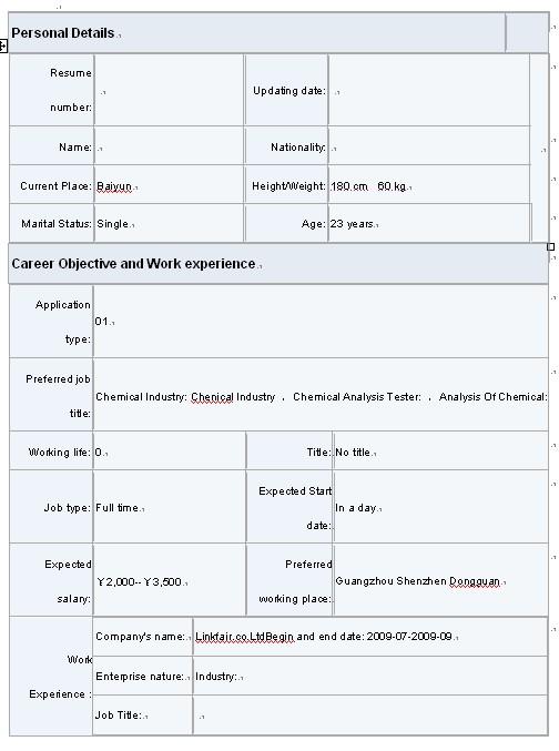 适合应届生的优秀英文简历模板图片