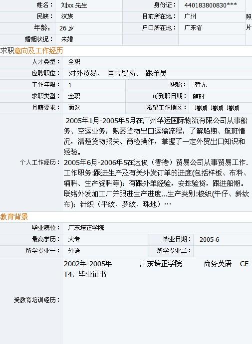 最新简历模板_最新的大学生个人简历模板