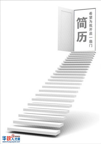 创意简历封面:开启一扇门-个人简历封面-深圳人才网图片